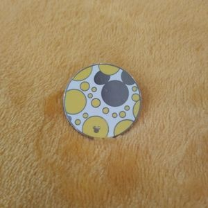 Yellow and Silver Disney Pin